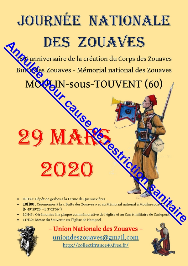 Butte des Zouaves - Union nationale des Zouaves