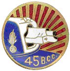 45e BCG - Collectif France 40 - 1940