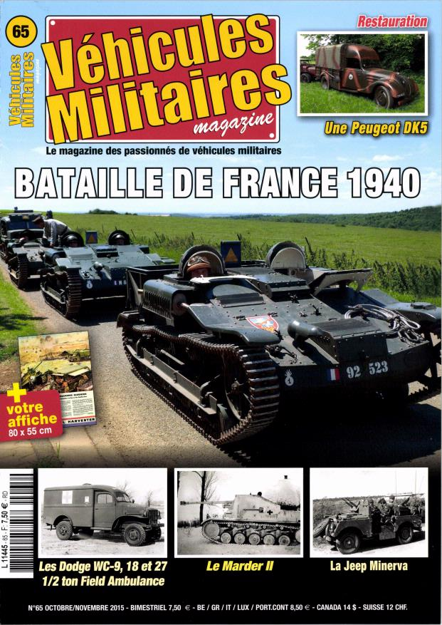 Véhicules Militaires Magazine - France 1940